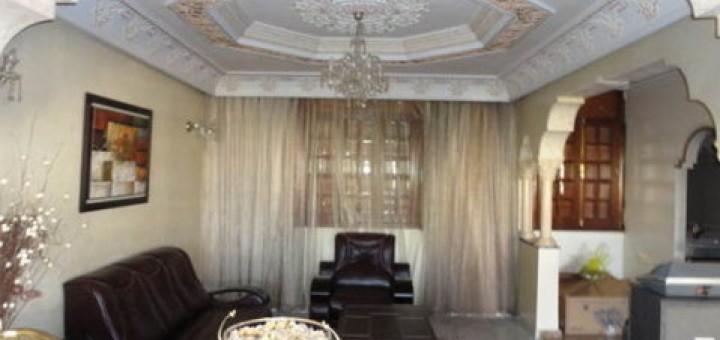 Une stup fiante maison r 2 vendre sur casablanca guide for Achat maison maroc