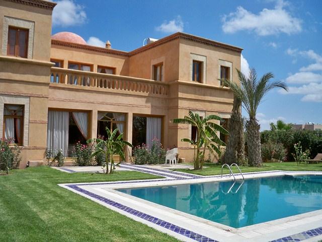Une Villa Admirable Louer Amelkis Marrakech Guide