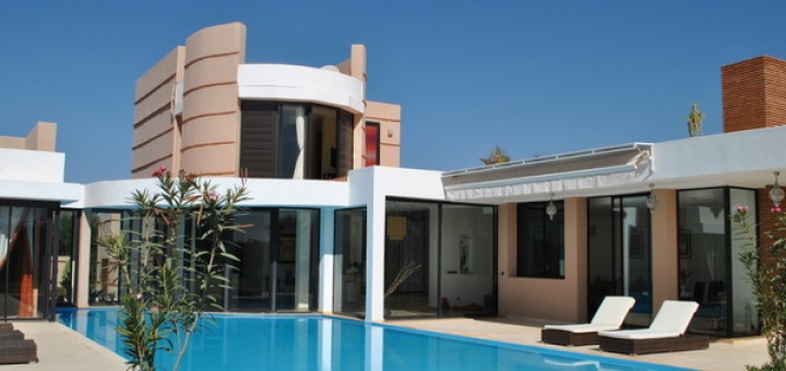 Beautiful Cheminee Contemporain Villa Marocaine Gallery   House .