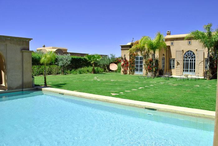 Le meilleur h bergement pendant la cop22 guide for Villa a marrakech avec piscine