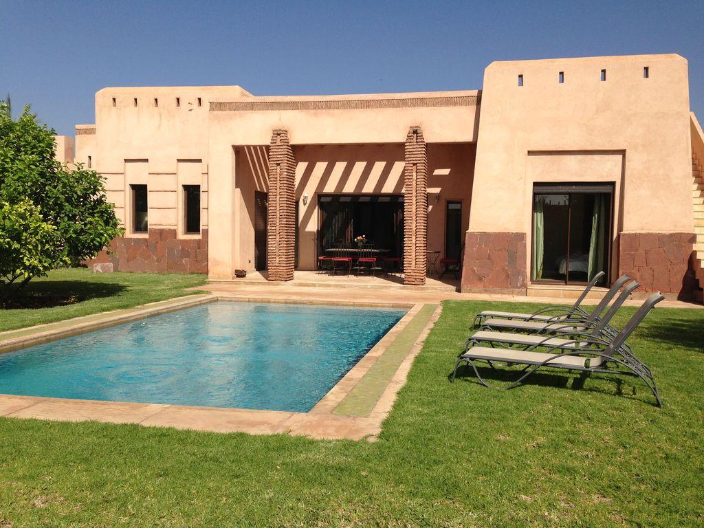 Villa de luxe marrakech avec piscine priv e apple - Location villa collioure avec piscine ...