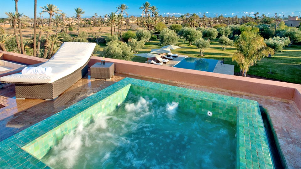 location riad luxe marrakech palmeraie