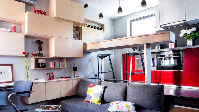 cr er plus d 39 espace visuel dans votre appart marrakech. Black Bedroom Furniture Sets. Home Design Ideas